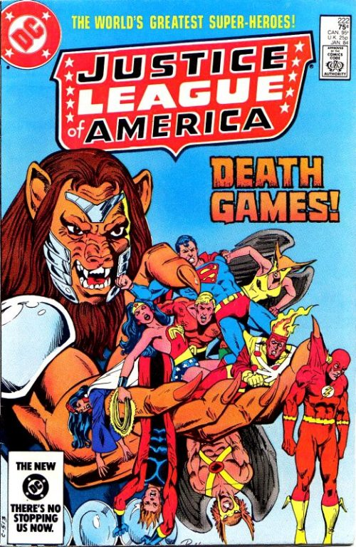 Justice League of America volume one issue 222