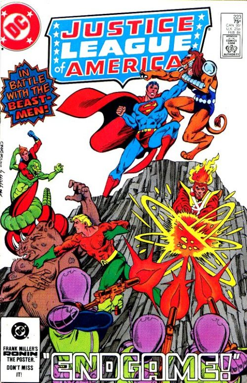 Justice League of America volume one issue 223