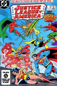 Justice League of America volume one issue 232