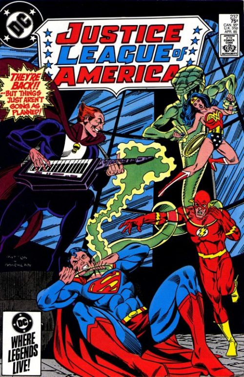 Justice League of America volume one issue 237