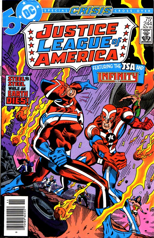 Justice League of America volume one issue 244