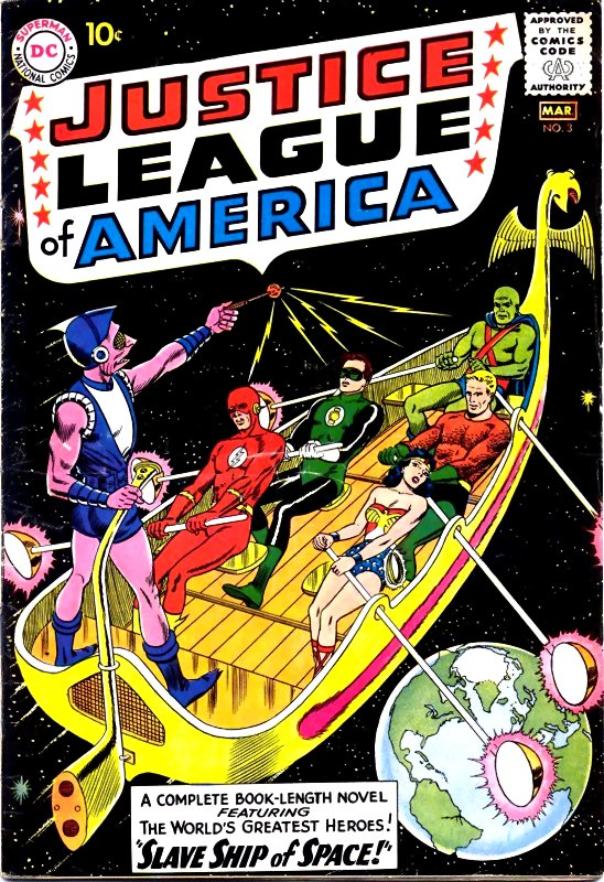 Justice League of America volume one issue 3