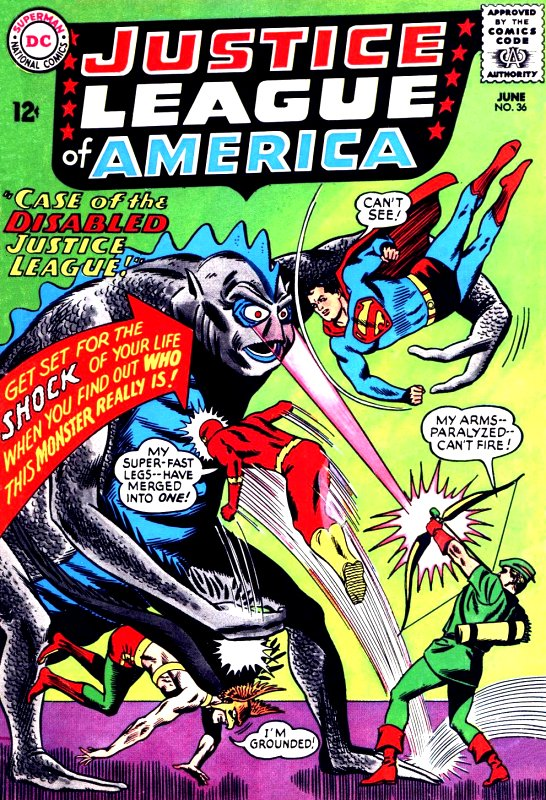 Justice League of America volume one issue 36