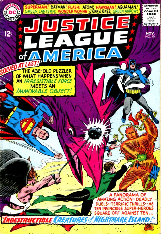 Justice League of America volume one issue 40