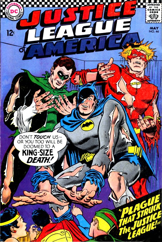 Justice League of America volume one issue 44