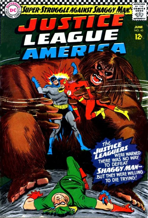 Justice League of America volume one issue 45