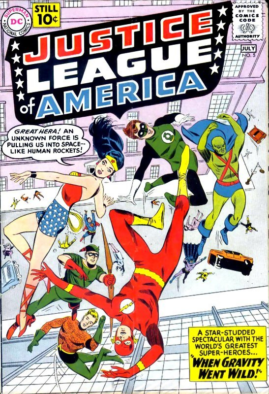 Justice League of America volume one issue 5
