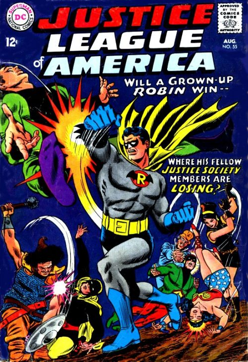 Justice League of America volume one issue 55