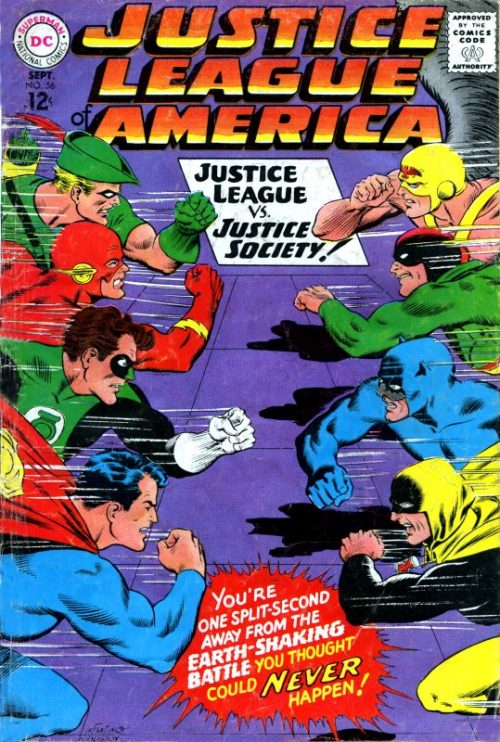 Justice League of America volume one issue 56
