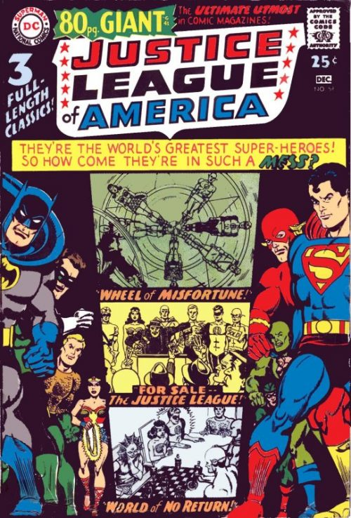 Justice League of America volume one issue 58