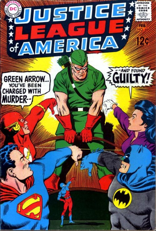 Justice League of America volume one issue 69