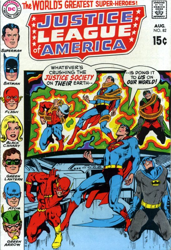 Justice League of America volume one issue 82
