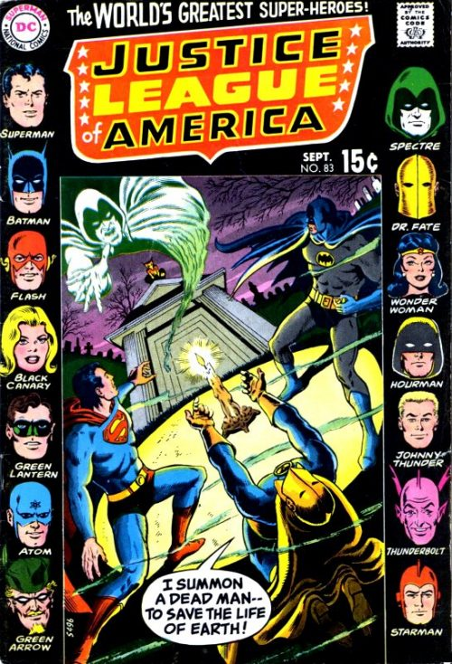 Justice League of America volume one issue 83