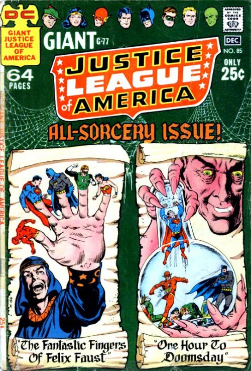 Justice League of America volume one issue 85
