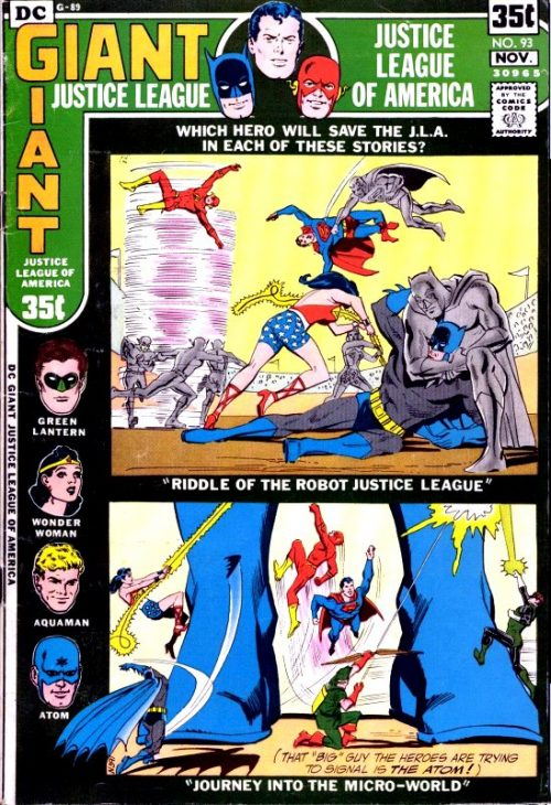 Justice League of America volume one issue 93