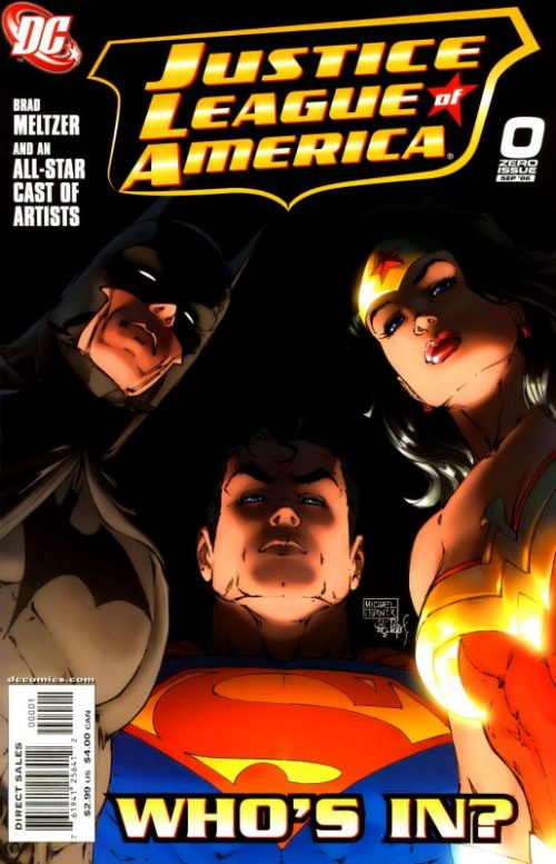 Justice League of America volume two issue 0