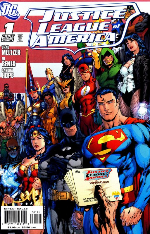 Justice League of America volume two issue 1
