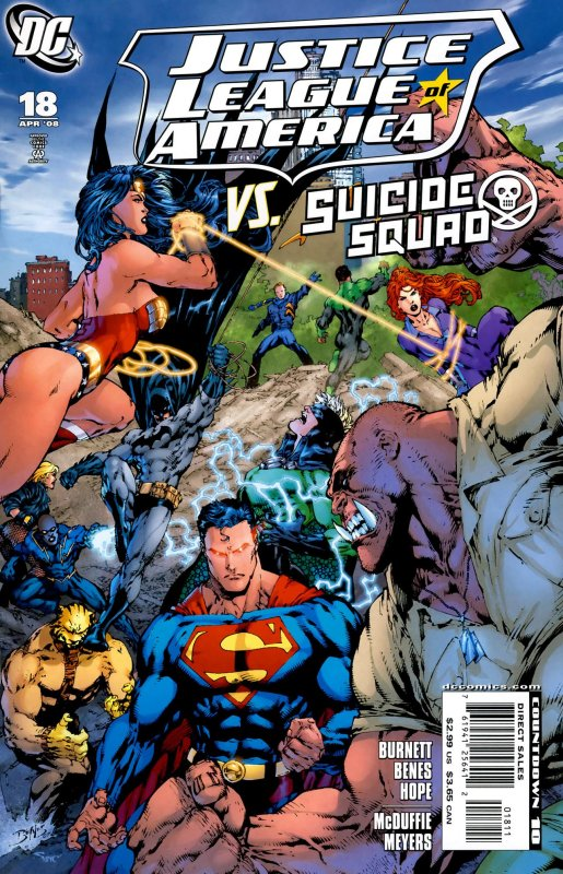 Justice League of America volume two issue 18
