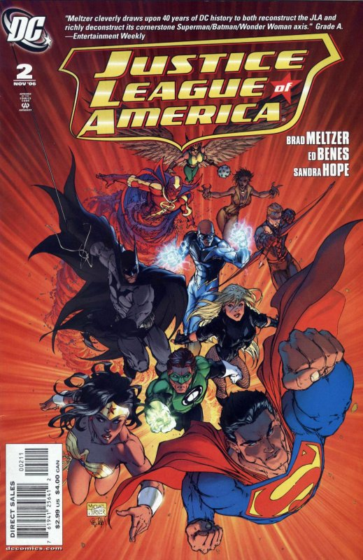Justice League of America volume two issue 2