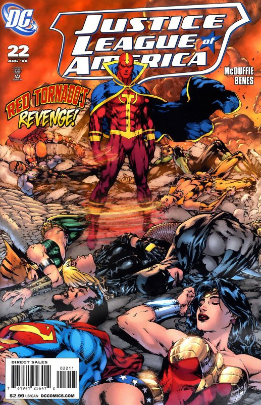 Justice League of America volume two issue 22