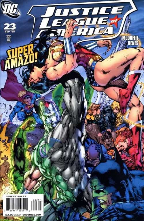 Justice League of America volume two issue 23