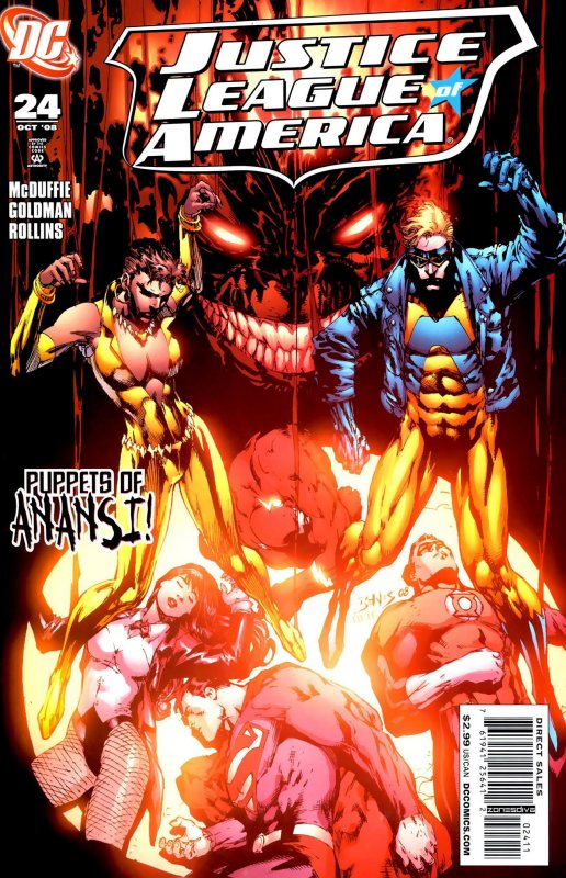 Justice League of America volume two issue 24