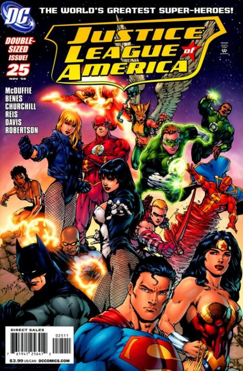 Justice League of America volume two issue 25