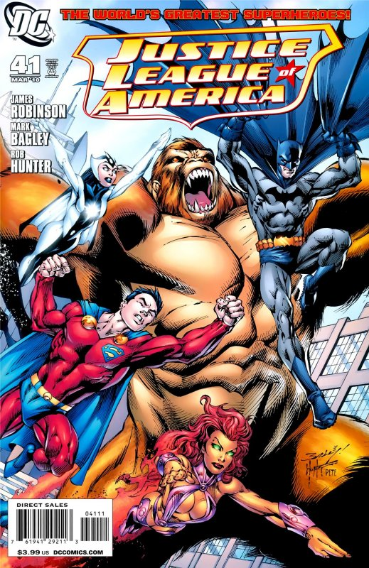 Justice League of America volume two issue 41
