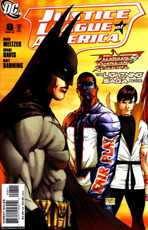 Justice League of America volume two issue 8