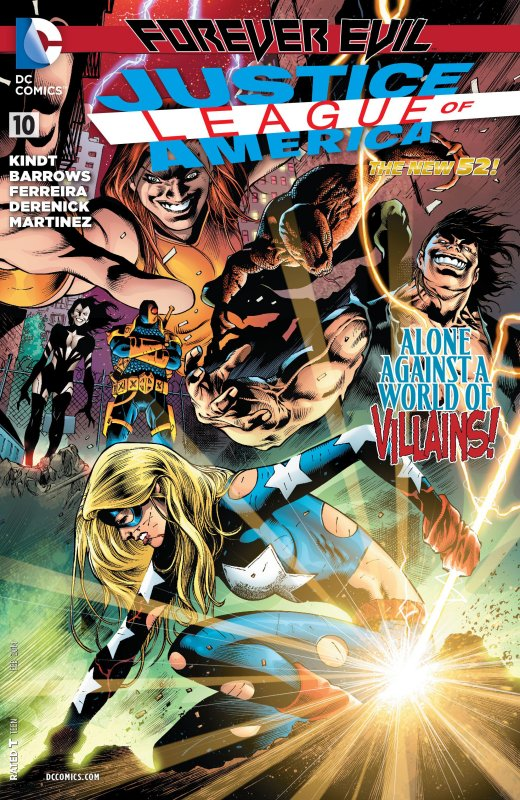Justice League of America volume three issue 10