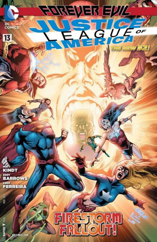 Justice League of America volume three issue 13
