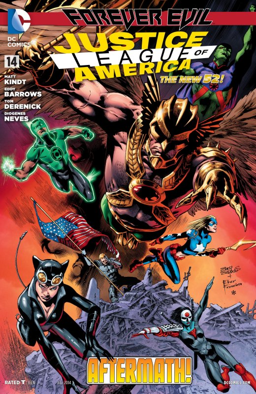 Justice League of America volume three issue 14