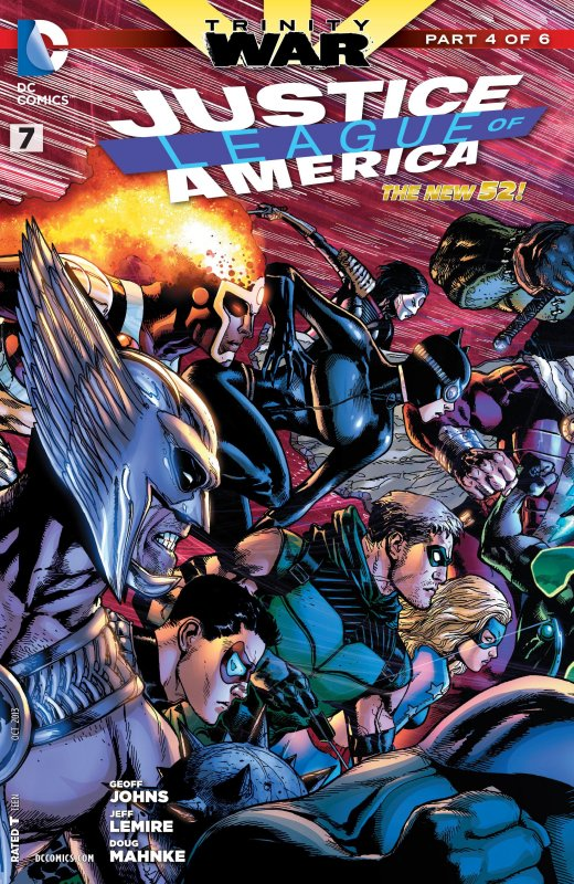 Justice League of America volume three issue 7