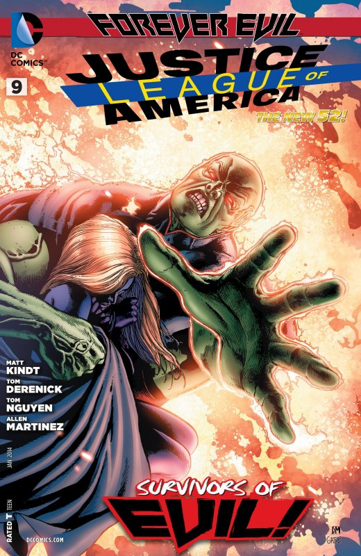 Justice League of America volume three issue 9