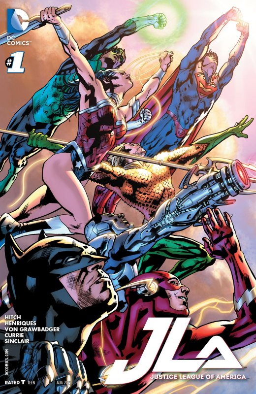 Justice League of America volume four issue 1