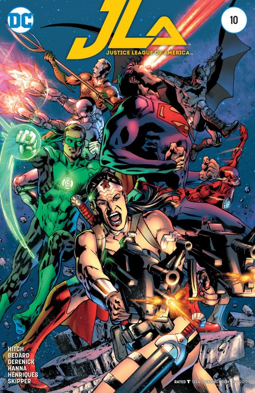 Justice League of America volume hour issue 10