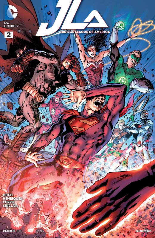 Justice League of America volume four issue 2