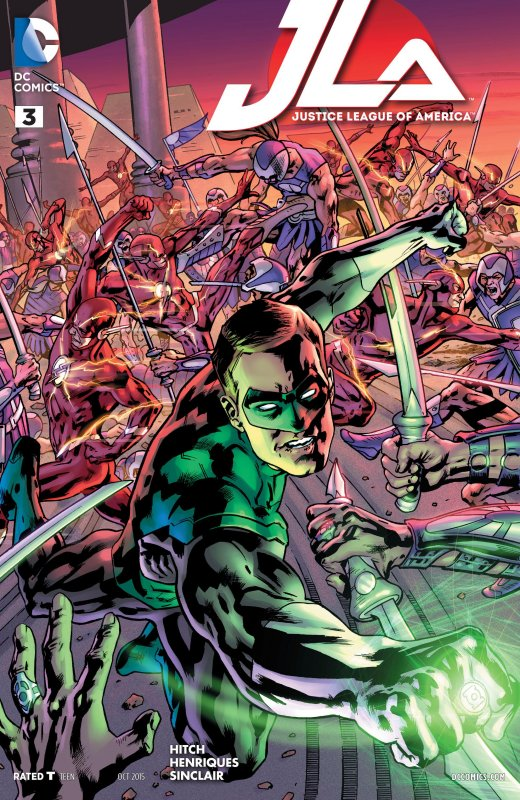 Justice League of America volume four issue 3