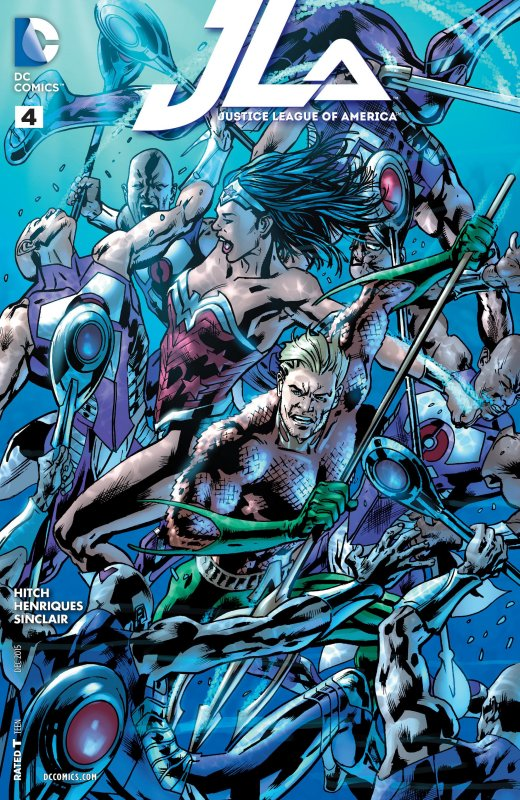 Justice League of America volume four issue 4