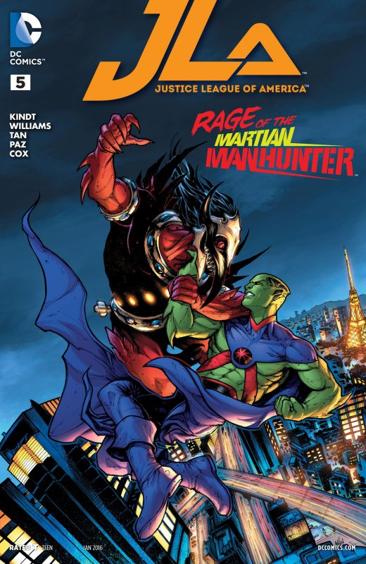 Justice League of America volume four issue 5