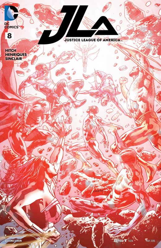 Justice League of America volume four issue 8