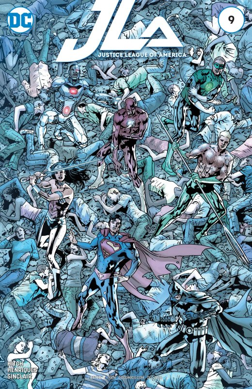 Justice League of America Volume four issue 9