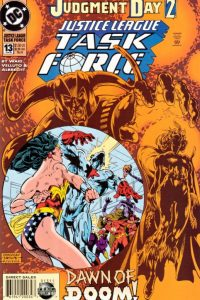 Justice League Task Force issue 13