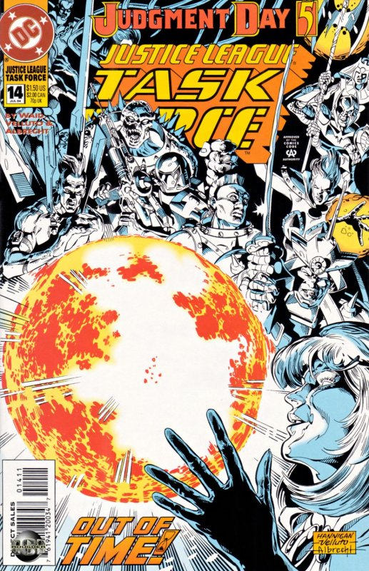 Justice League Task Force issue 14