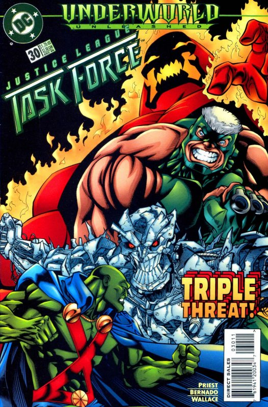 Justice League Task Force issue 30