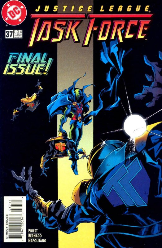 Justice League Task Force issue 37