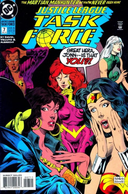 Justice League Task Force issue 7