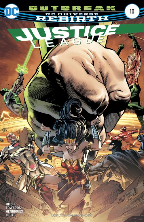 Justice League volume three issue 10