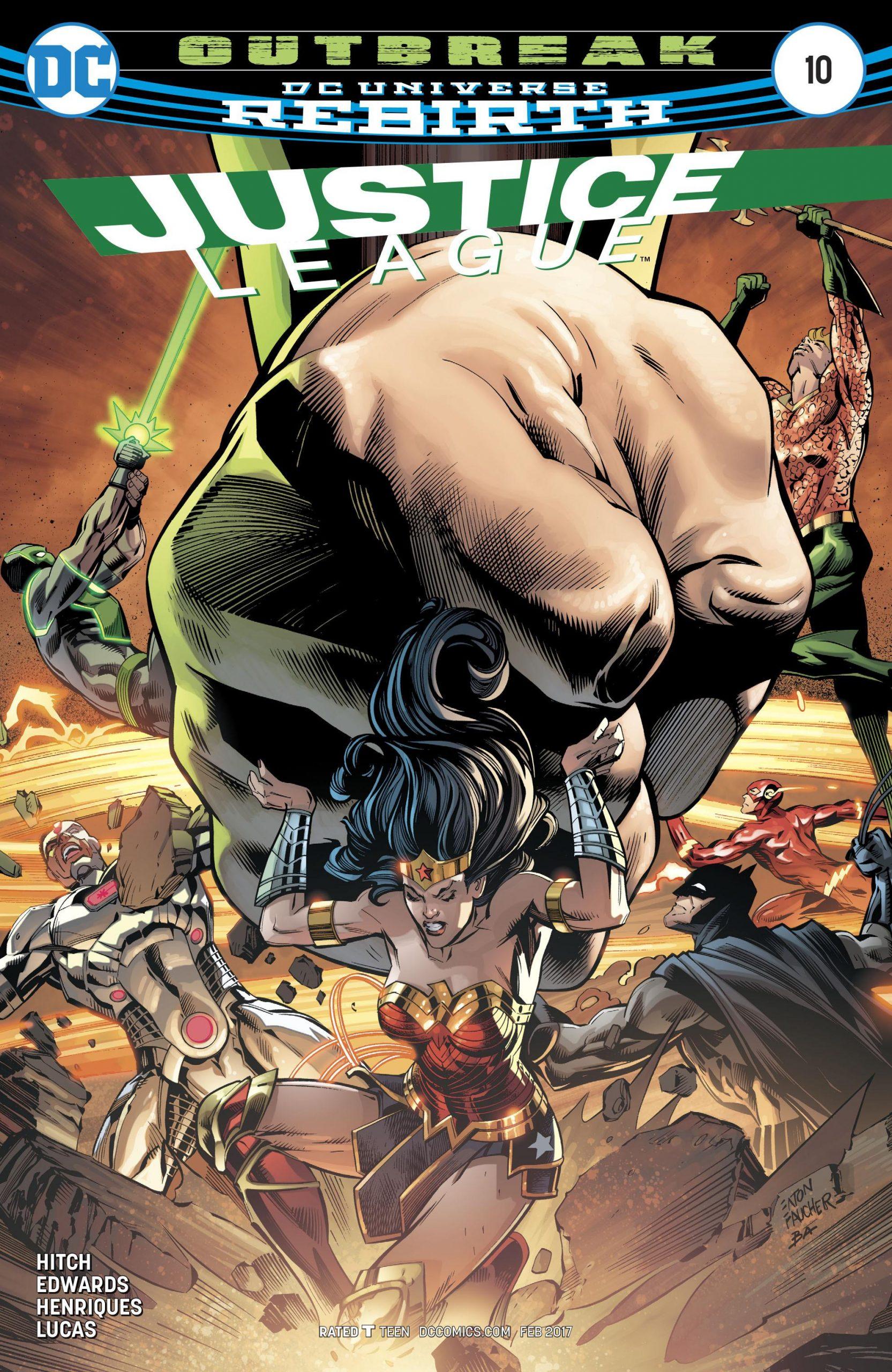 Justice League volume three issue 10