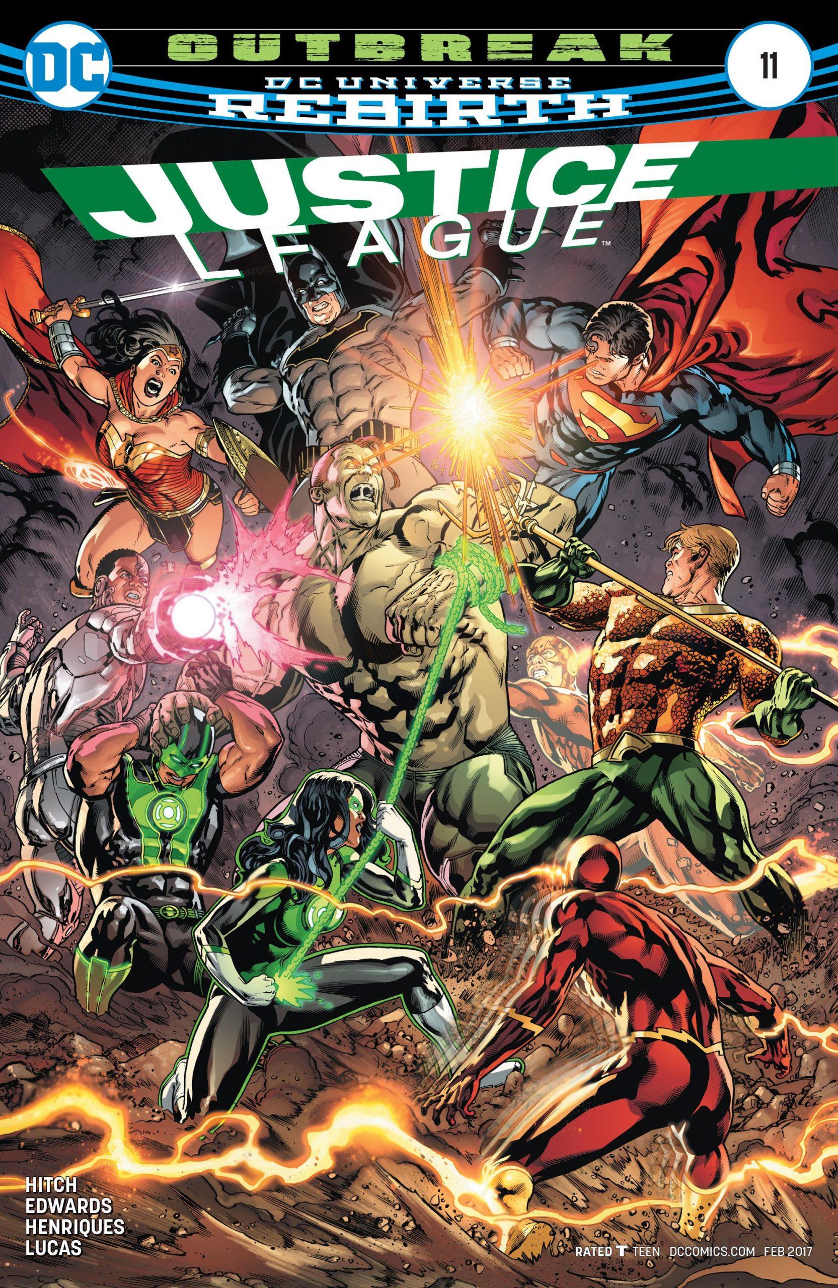 Justice League volume three issue 11